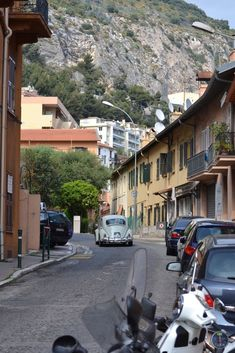 A street in southern France by Carl   #oldcars #Cars #France #travel #photography #tourism #ppixxells