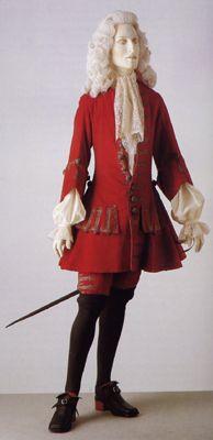 Early Georgian-Men **Link to ilstu's Georgian/Rococo Review-18th Century (Part 1)