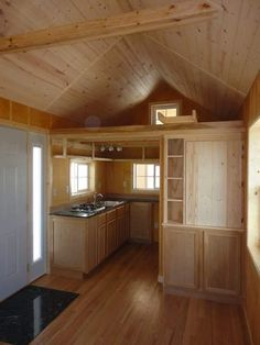 Very nice tiny home, the vastu tiny cabin 002   Father and Son Create Amazing 200 Sq. Ft. Tiny Cabin for Simple Living