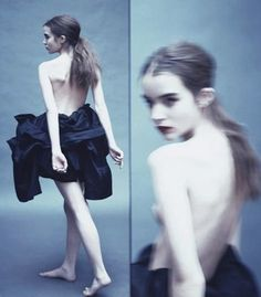 Ali Michael in by Paolo Roversi for New York Times