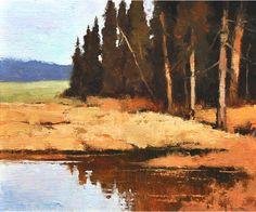 Don Hamilton, High Country Autumn, Oil Painting, 10 x 12