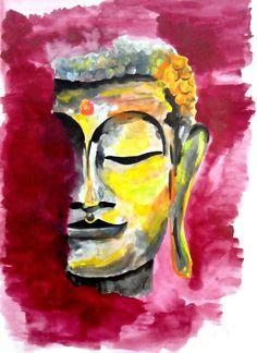 He encontrado este interesante anuncio de Etsy en https://www.etsy.com/es/listing/228900769/buddha-wall-art-buddha-face-painting