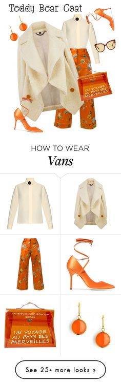 """Orange Dreamsicle"" by tm-thomas on Polyvore featuring Balenciaga, Dries Van Noten, Burberry, Vetements, Hermès, Syna and Gucci"