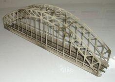 7163 Große Gitterbrücke aus Metall für M-Gleise in sehr gutem Zustand