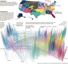 NYTimes phone call data map / kind of dizzying but interesting