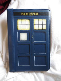 Doctor Who TARDIS Kindle 7 inch Tablet Case