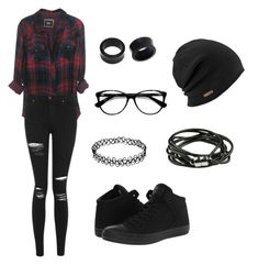 """hipster"" by huismkyl-1 on Polyvore featuring NOVICA, Topshop, Ace and Converse"