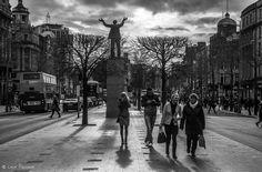Walking in Dublin