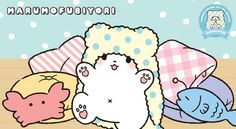 November was made for chilling at home under a blanket, which is perfect for the Sanrio 'Friend of the Month' Marumofubiyori! Here are a couple fun facts about the little homebody that loves to laze around at home. Fun Facts, Hello Kitty, Snoopy, Couple Fun, Friends, Chilling, Fictional Characters, November, Blanket