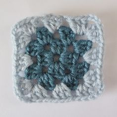 Learn how to make granny squares step by step!