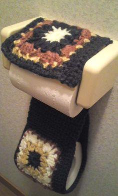 トイレットペーパーホルダーカバーの作り方|編み物|編み物・手芸・ソーイング|アトリエ|手芸レシピ16,000件!みんなで作る手芸やハンドメイド作品、雑貨の作り方ポータル