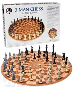 3 Person Chess-all the same piece movements as 2 person chess