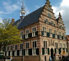Het oude gemeentehuis van Naarden, Naarden-Vesting.