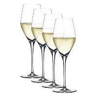 Spiegelau Gläser, 'Authentis' Champagner Glas 270 ml Set 4-tlg.