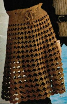 Crochet Applique Patterns Free, Free Pattern, Crochet Skirts, Crochet Top, Chevron Skirt, Knitting, Womens Fashion, Dresses, Leather Jewelry