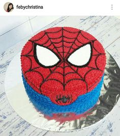 Spiderman Cake Ideas for Little Super Heroes - Novelty Birthday Cakes Spiderman Birthday Cake, Spiderman Theme, Superhero Cake, Superhero Birthday Party, 4th Birthday, Spider Man Party, Cartoon Cakes, Novelty Birthday Cakes, Character Cakes