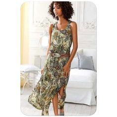 Beautiful dress by Linea Tesini. Hot Days, Beautiful Dresses, High Low, Shopping, Fashion, Moda, Cute Dresses, Beautiful Gowns, Fashion Styles