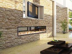 Gas fireplace by Escea by Escea Ltd