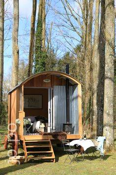 Contemporary shepherd's hut