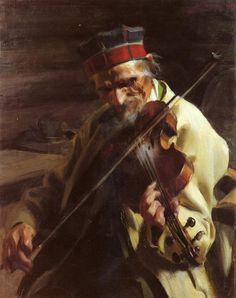 """Anders Zorn (1860-1920) Hins Anders Oil on canvas 1904 205.74 x 162.56 cm (81"""" x 64"""")"""