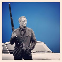 1. Aston Martin DB5   2. the hunting jacket  3. the good, old fashioned, tried & true double barreled shotgun.