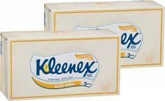 Kleenex Facial Tissues Extra Care or Thick & Large Pk 95