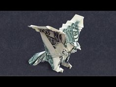 Money Origami Eagle - Dollar Bill Art