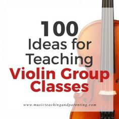 Whether you are a Suzuki violin teacher or teach strings in the schools, this article is a MUST READ. Tons of great music teaching ideas links and resources for music teachers