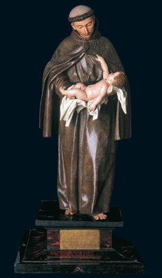 Alonso Cano. San Antonio de Padua. 1666-1667. Parroquia de San Nicolás. Murcia  Fundación Cajamurcia