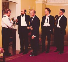 The Guys of The West Wing - I'm obsessed. Love these guys - why can't they be the real president and white house staff???