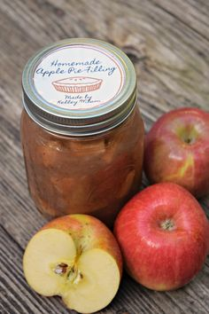 Make homemade apple pie filling in your crockpot for all kinds of yummy treats, I use them in fried pies, apple pie cookies and of course on top of ice cream!
