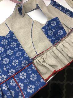 Fra XL til M – En bunad blir til Folk Costume, Costumes, Pattern Making, Apron, Embroidery, Folklore, How To Make, Fashion, Hipster Stuff