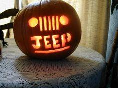 #Jeep #pumpkin
