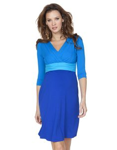 Turquoise Colour Block Dress  Seraphine Maternity Nursing Dress  SugarNSpiceLife.Com  @SugarNSpiceLife  #EasterEggRoll #WhiteHouse