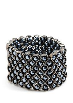 AMRITA SINGH Pearl Stretch Bracelet