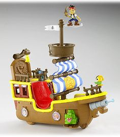 """Fisher-Price Jake and the Never Land Pirates - Musical Pirate Ship Bucky - Fisher-Price - Toys """"R"""" Us"""
