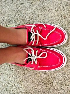 those are some schmexy sperries!