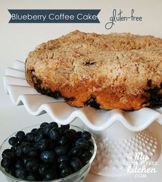 Blueberry Coffee Cake {gluten-free} - Perfect for a special breakfast or brunch!