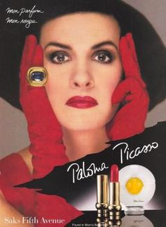 Часто бывая у матери и брата в Нью-Йорке, Палома год за годом пыталась пробиться в отдел дизайна ювелирной фирмы «Tiffani». И в 1980-м она выиграла конкурс и подписала контракт! Параллельно при участии мужа заложила фундамент собственной деловой империи. Дебютный продукт бренда «Paloma Picasso» — одноименный женский парфюм — вышел на рынок в 1984-м. И здесь сказалась наследственность — ведь дед Паломы по линии матери был парфюмером!