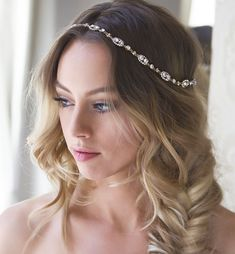 370586b2042c Cleo Gold Halo Wreath  weddinghairstyles Easy Hairstyles