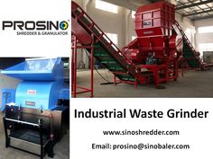 Industrial waste grinder can be a standalone equipment, or you can connect it with a feeding conveyor, or with other shredding and baling machines to compose a production line. Contact PROSINO team to discuss your own project. Industrial Waste, Production Line, Grinding Machine, Mesh Screen, Connect