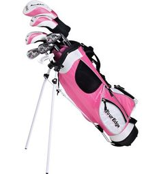 Make playing golf fun with the HT Max-J package set from Tour Edge. The full junior set has all the performance clubs young athletes need to get out on the course and improve their game. With high-flying technology, the Tour Edge Girls' HT Max-J Complete Junior Golf Clubs, Cheap Golf Clubs, Golf Card Game, Girls Golf, Tween Girls, Golf Club Sets, Sports Toys, Play Golf, Mens Golf