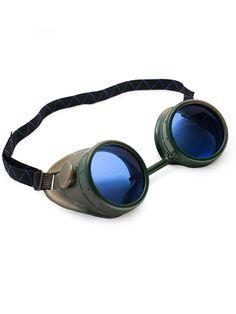 Woodland Camo Goggles   Cyber Rave Burner Goggles