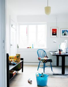 colorful kids spaces by the style files, via Flickr