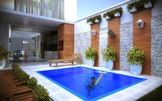 Projeto residêncial em Campo Belo- MG. Arquitetos: Pâmella Morais Bastos Mario Bastos