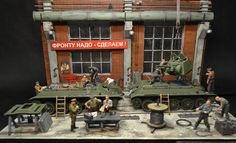 Photo 1 - All for front, all for victory! Part 2 | Dioramas and Vignettes | Gallery on Diorama.ru