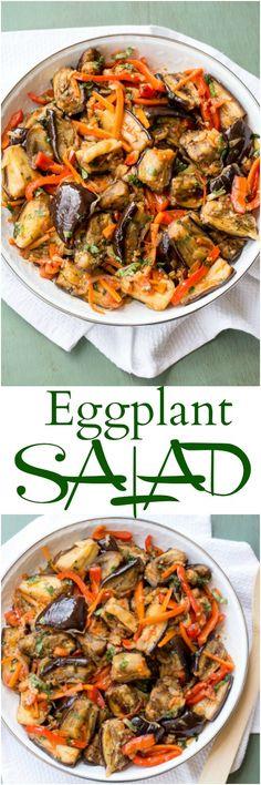 Eggplant and Vegetable Salad