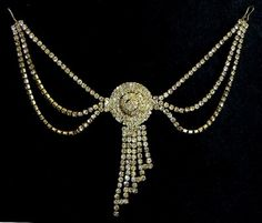 Indian hair jewelry