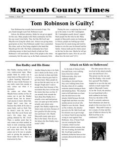 1000 images about school newspaper templates on pinterest for Create your own newspaper template