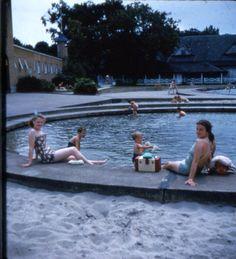 https://flic.kr/p/7teSvz | Fran and ?Helen at Hershey Pool circa late '40's | Fran and Helen at Hershey Pool circa late 1940's.